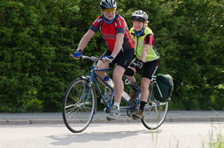 Tandemcyklister