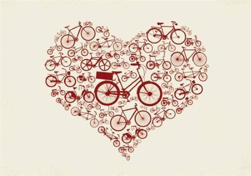 Alla hjärtans dag cykelkedja