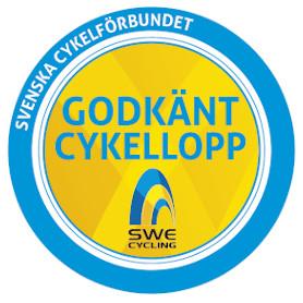 Godkänt cykellopp av Svenska Cykelförbundet